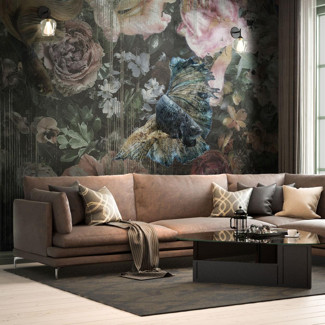 luxury wallpaper room