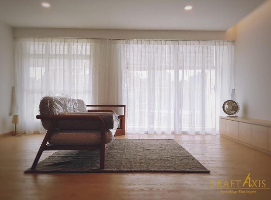 Motorised blinds home renovation