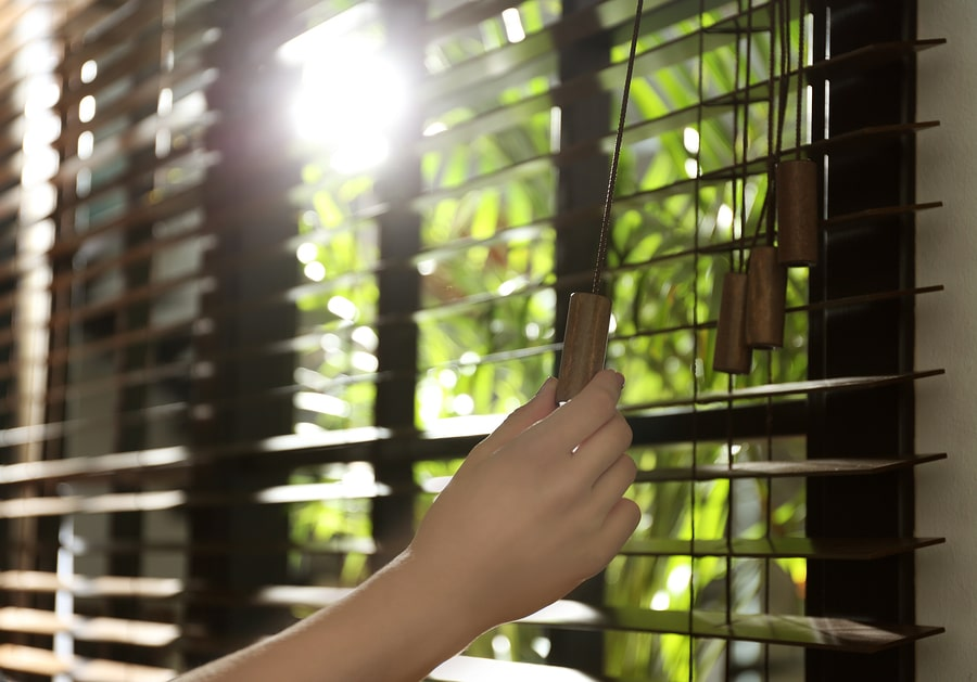 Venetian blinds and roller blinds in Singapore