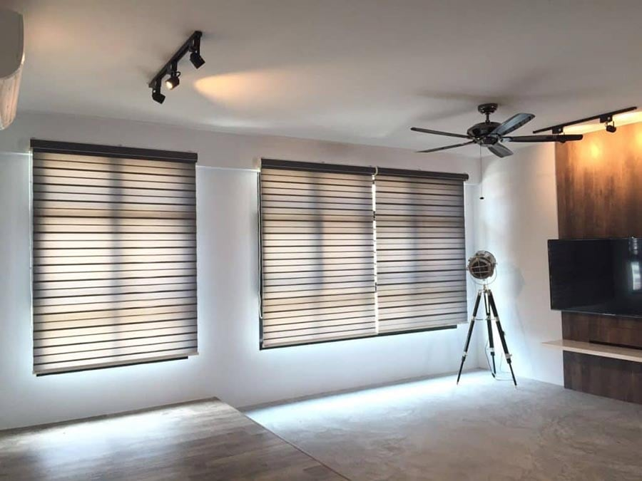 combi blinds cozy atmosphere