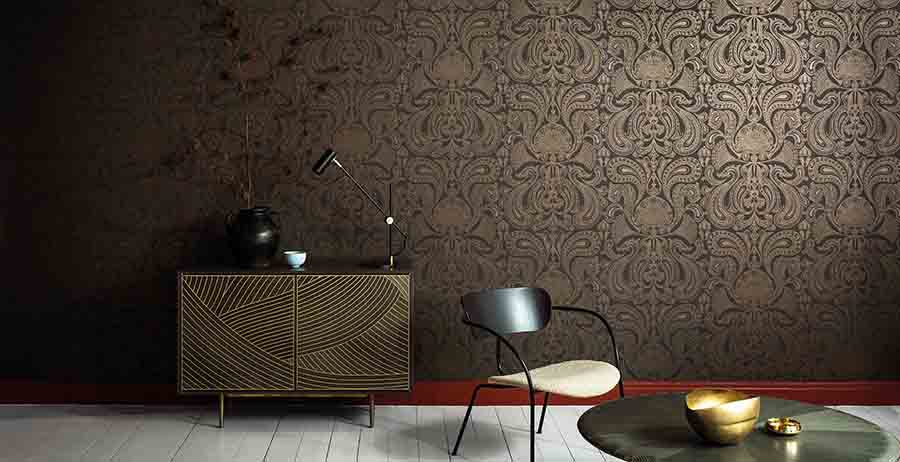 Statement wallpaper pattern